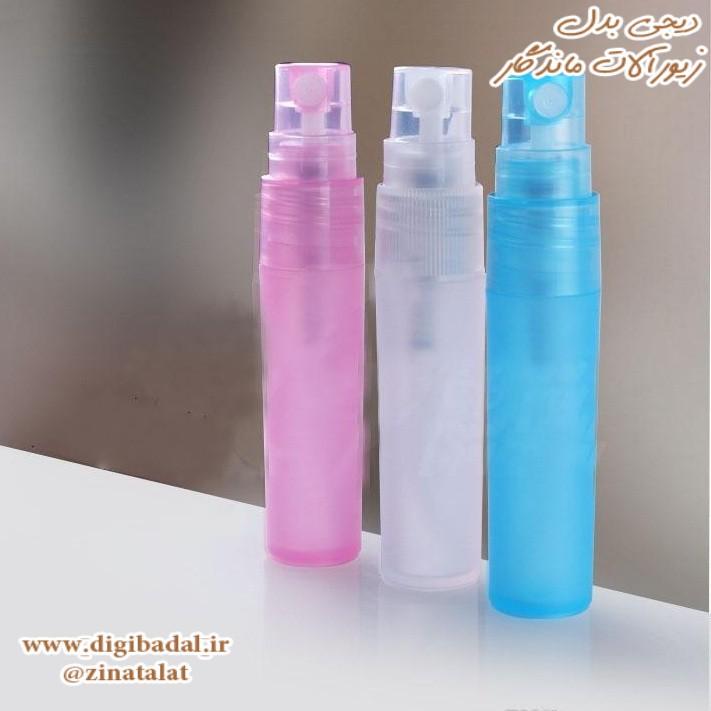 شیشه عطر پلاستیکی اسپری 6 میلی لیتر