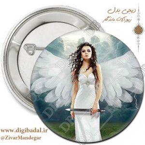 پیکسل دخترونه طرح فرشته 3