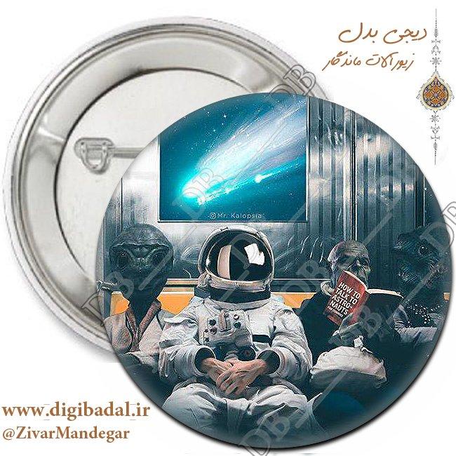 پیکسل فضانورد طرح 4