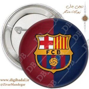 پیکسل پرچم بارسلونا طرح 3