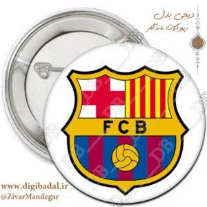 پیکسل پرچم بارسلونا طرح 2